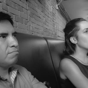 Pablo Salinas y María José Giménez.